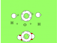 Steam molecule